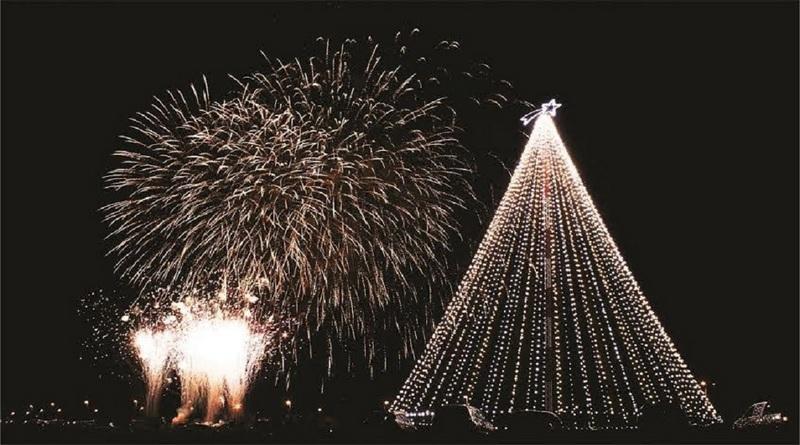 Por primera vez sin fuegos artificiales, mañana se enciende el Árbol de Navidad