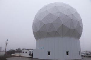 Estación De Control Espacial En La Ciudad De Tolhuin