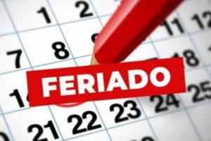 Quedan sólo cinco feriados para lo que resta del año
