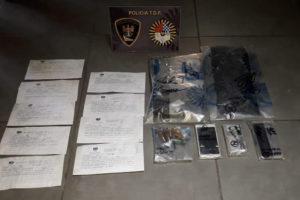 La Policía Provincial incautó más de 100 dosis de cocaína y detuvo a dos sujetos