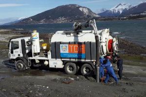 Igue En Marcha El Mantenimiento Del Sistema Sanitario De Ushuaia