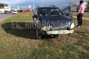 Violento accidente en Chacra II