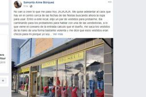 Indignación y vergüenza: La trataron de «gorda» en un local de Río Grande