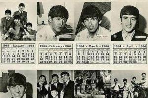 Calendario+ Beatles