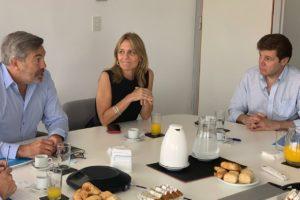 El Gobernador Melella Se Reunió En Buenos Aires Con Autoridades De Camuzzi