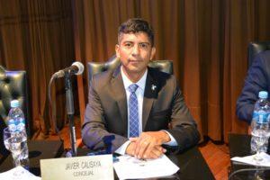 """""""Tenemos mucho trabajo que realizar articuladamente con el Municipio en pos del vecino"""", afirmó Calisaya"""