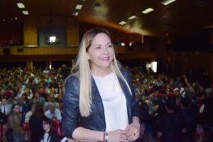 """Susñar: """"Estoy muy contenta y esperanzada porque se están cumpliendo promesas de campaña"""""""