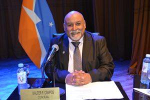 """Walter Campos: """"Tenemos que tener un Concejo Deliberante activo que trabaje en pos de la comunidad"""""""