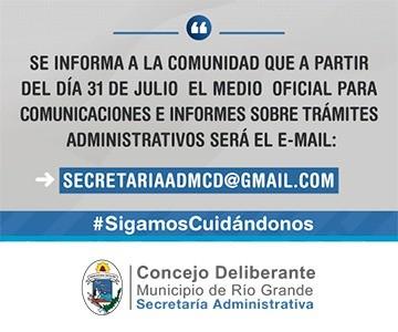Banner Secretaria Administrativa