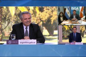 Martín Pérez y Alberto Fernández anunciaron la creación del Centro Integral de la Mujer en Río Grande
