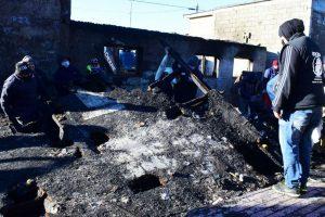 Gobierno continúa acompañando a las familias afectadas por el incendio en río grande
