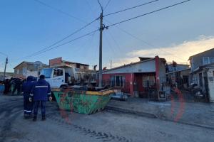 Comenzó el desarme de las 8 viviendas del casco viejo afectadas por el incendio
