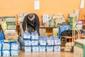 El municipio informa la próxima entrega de los módulos alimentarios