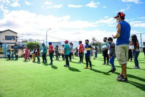 El Tercer Contingente De Niños Y Niñas De Ushuaia Disfruta De La Colonia De Verano De La Municipalidad En Los Barrios