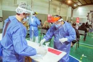 Operativo cuidar en chacra II: de 129 hisopados, 13 resultaron positivos