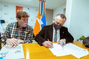 Importante convenio entre el Municipio y el Rotary Club