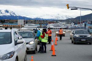 La municipalidad de Ushuaia participó del operativo de alcoholemia federal