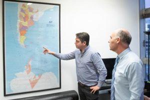 Martín Pérez se reunió con el nuevo Secretario de Malvinas de Nación