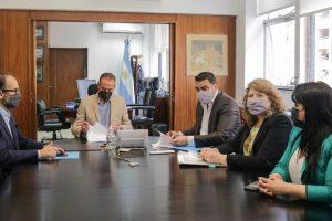 Vuoto y Yutrovic firmaron con nación una obra para mejorar el acceso a la ciudad y el corredor de la ruta n3 y héroes de Malvinas