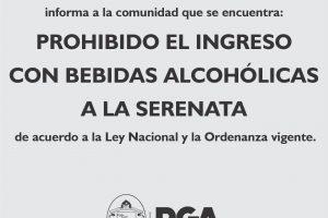 SERENATA: La agencia de deportes aclaró que no se permitirá el acceso con bebidas alcohólicas