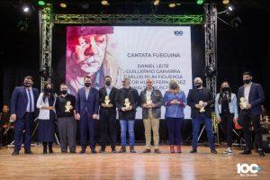 El Intendente Martín Perez entregó los reconocimientos 'Walter Buscemi' a artistas de la música